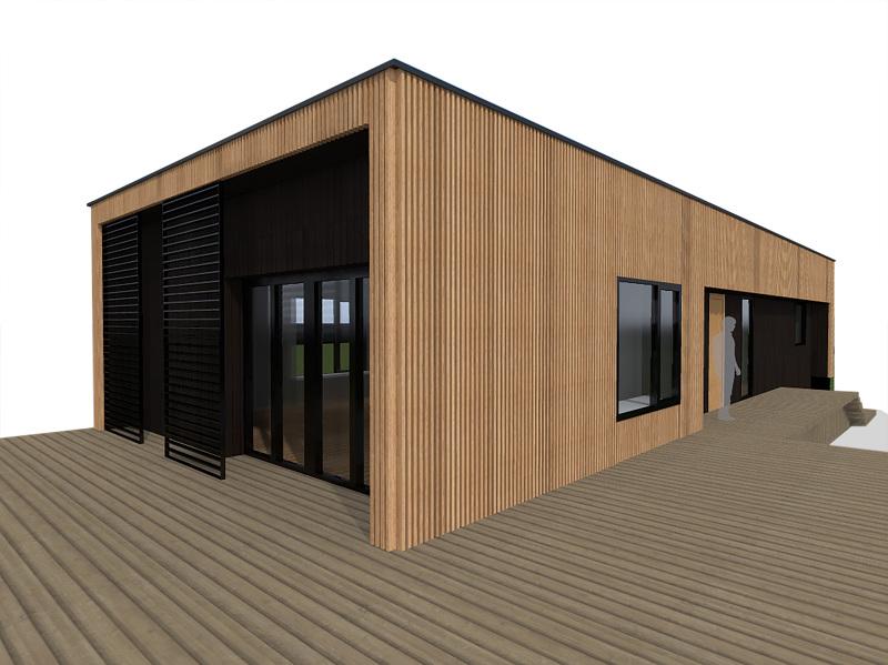 maison bbc ossature bois atelier rscio. Black Bedroom Furniture Sets. Home Design Ideas